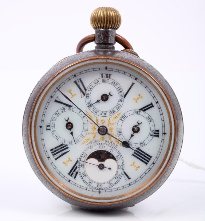 Đồng hồ đeo tay lịch vạn niên đầu tiên - Patek Philippe (1925)