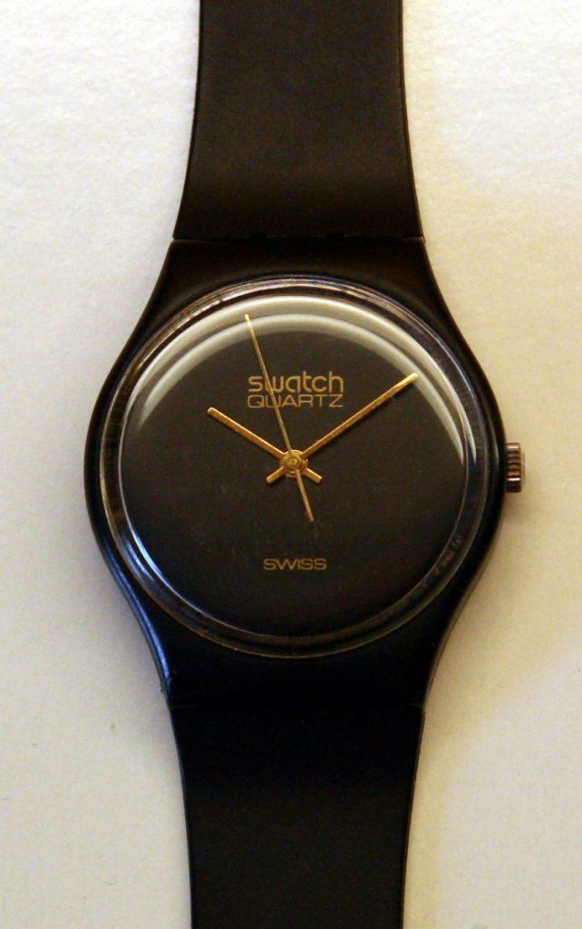 Đồng hồ Swatch đầu tiên, sản xuất 1983