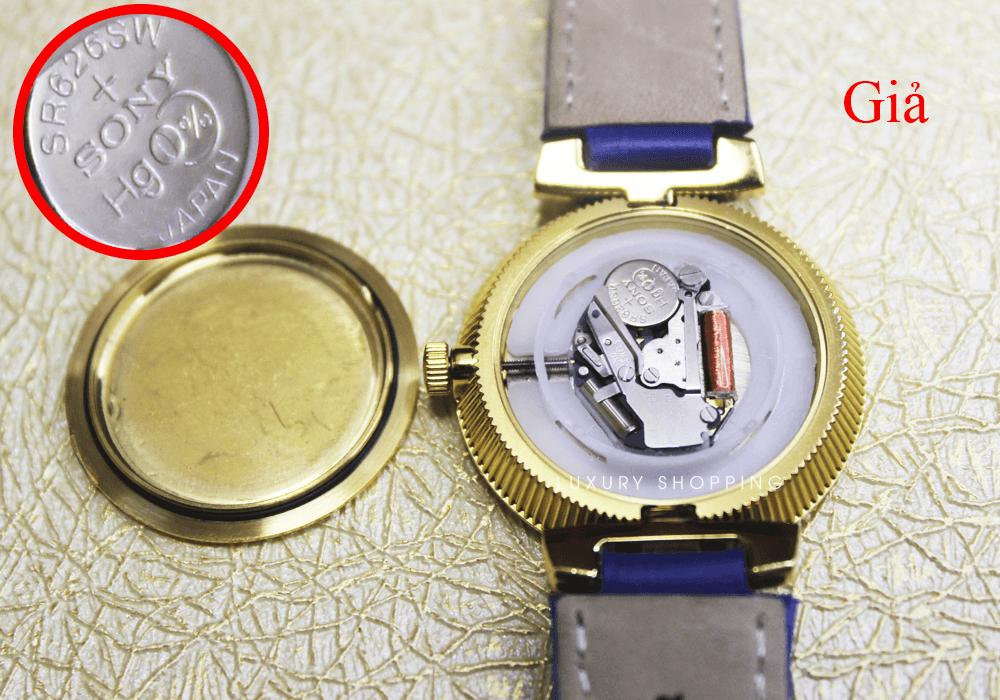 Bộ máy đồng hồ Versace giả