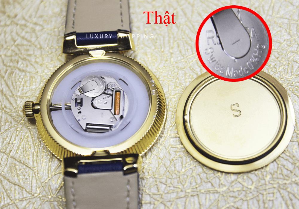 Bộ máy đồng hồ versace thật