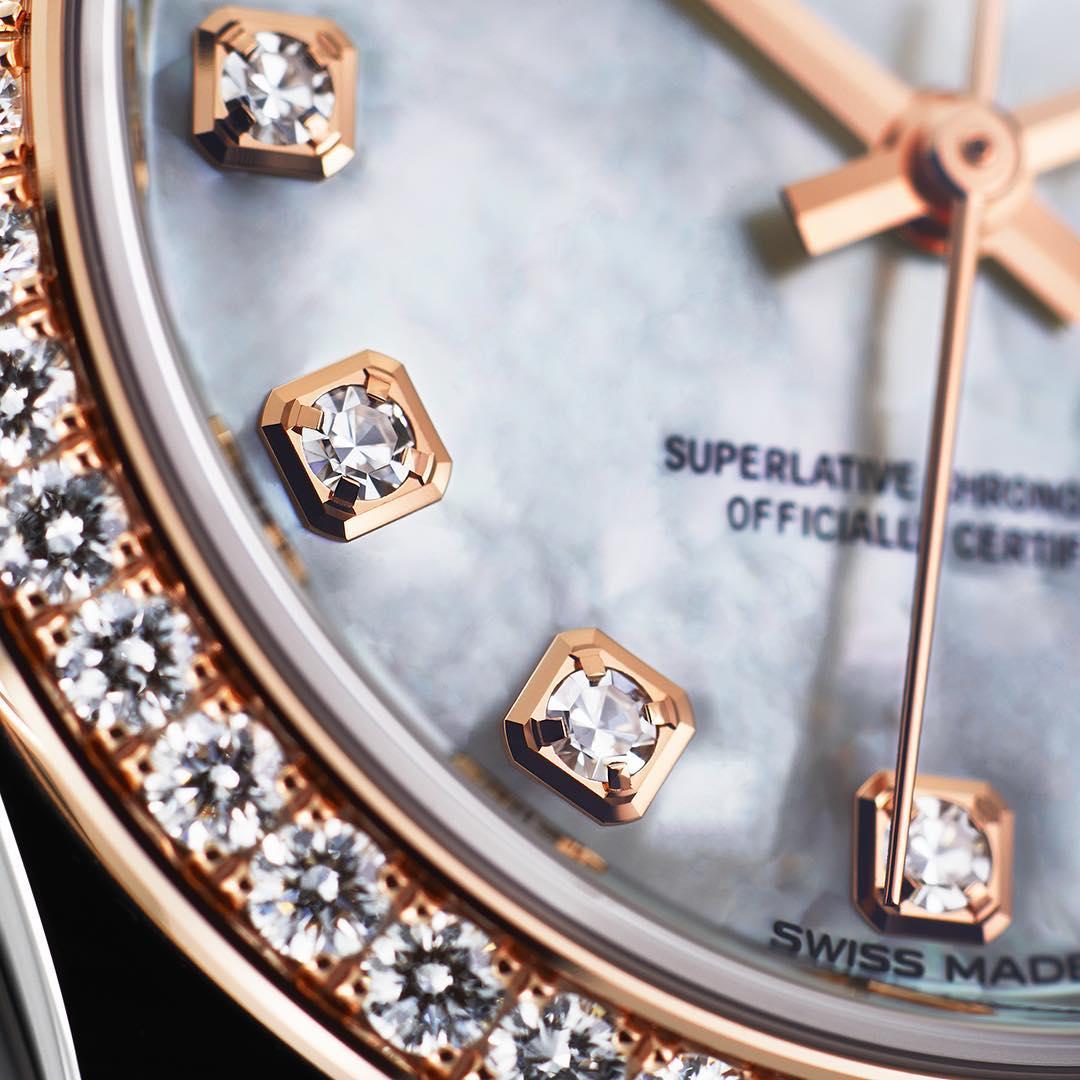 đồng hồ Rolex kim cương