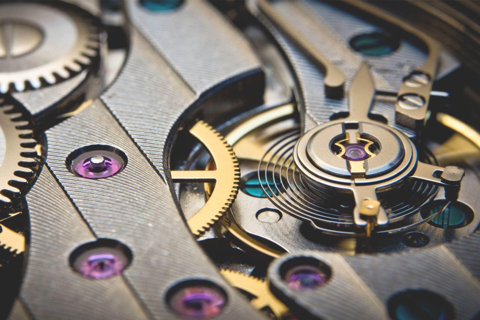 bộ máy chuyển động của đồng hồ cơ