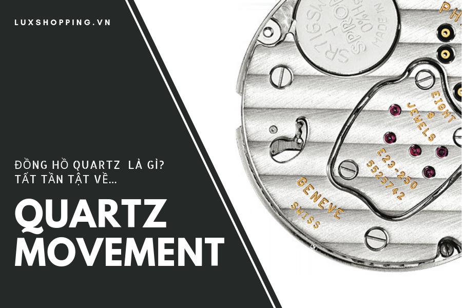 đồng hồ quartz và bộ máy pin