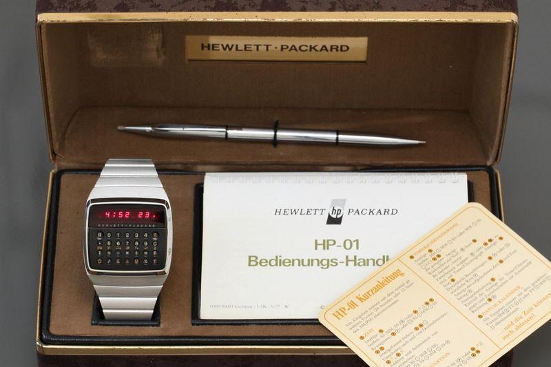 Đồng hồ Hewlett-Packard HP-01 LED.