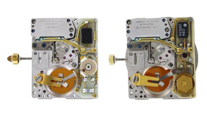 bộ máy thạch anh Beta 21 Thụy Sĩ từ đồng hồ Omega