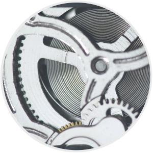 dây cót và bánh răng trong bộ máy đồng hồ