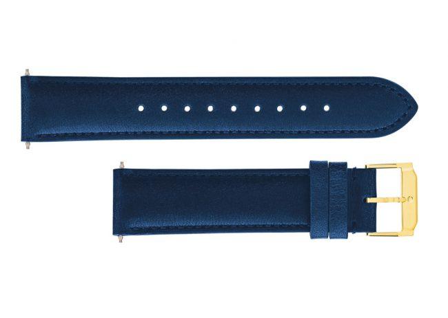 Movado Blue Navy Watch Straps 18mm, 21mm