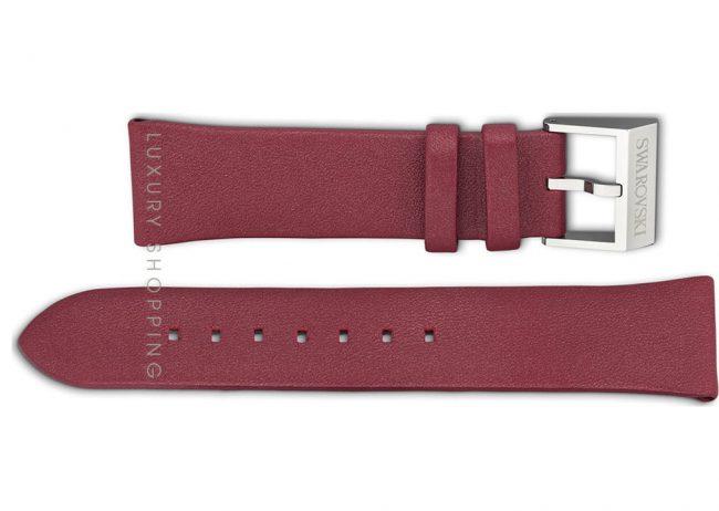 Swarovski 1165763 Crystalline Red Leather Strap 21/18mm