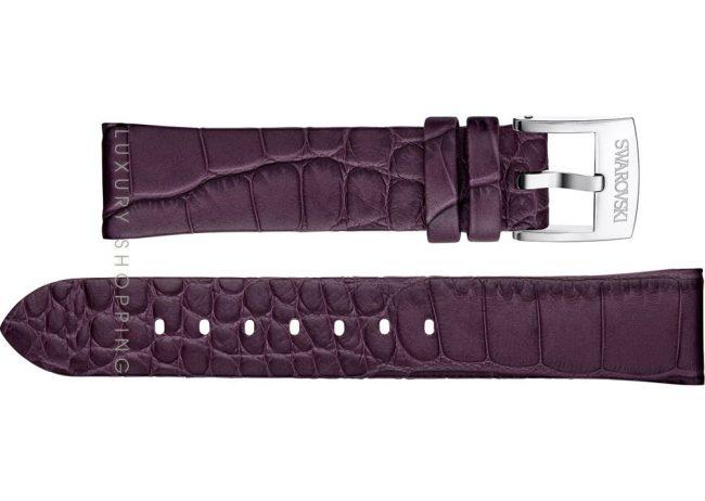 Swarovski 5348551 LS Purple Leather Strap 18/16mm