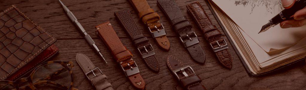 vật liệu dây da đồng hồ