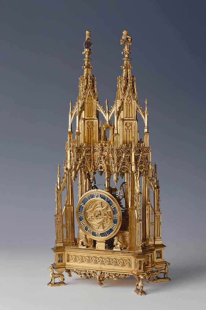 Đồng hồ chạy bằng lò xo lâu đời nhất hiện có là ở bảo tàng lịch sử Germanisches Nationalmuseum, tại Nürnberg, Đức