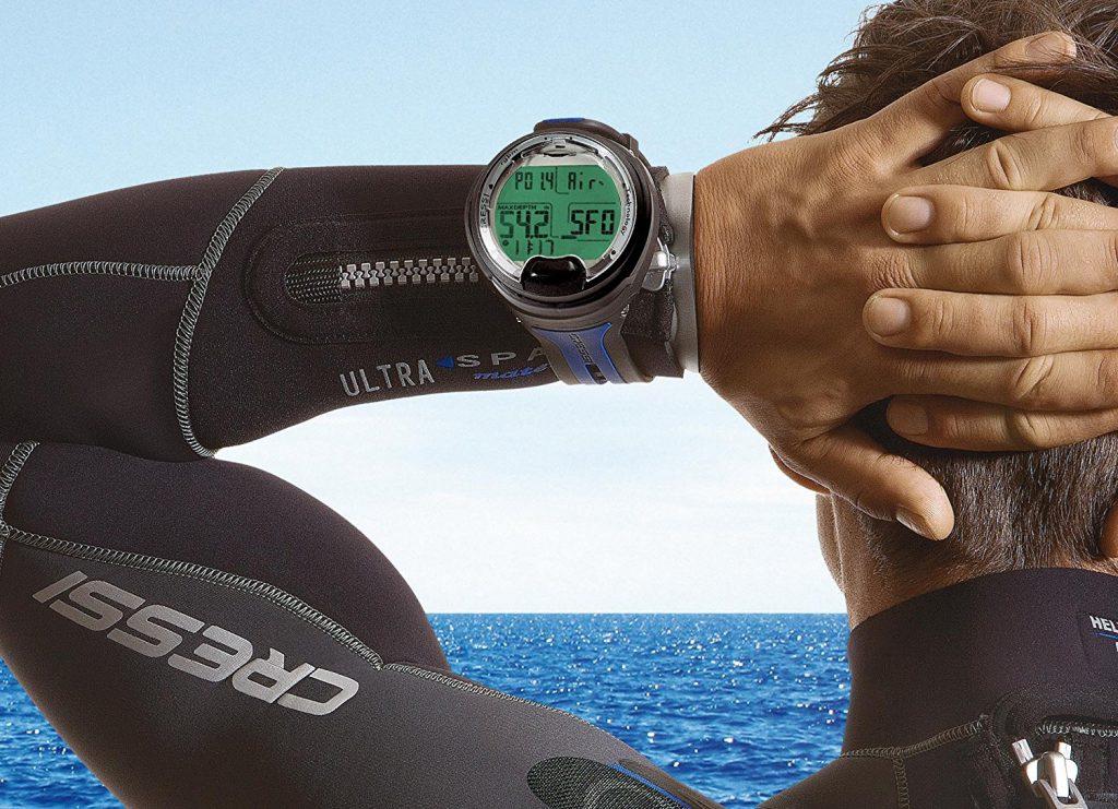 đồng hồ lặn kỹ thuật số hay máy tính lặn dive computer
